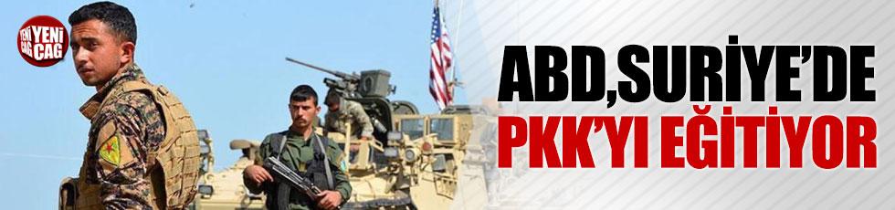 """""""ABD, Suriye'de PKK'yı eğitiyor"""""""