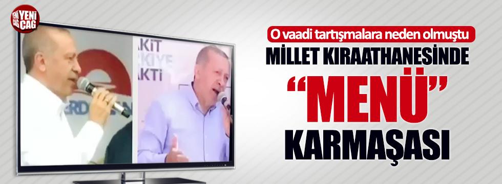 Erdoğan kendi kendini yalanladı