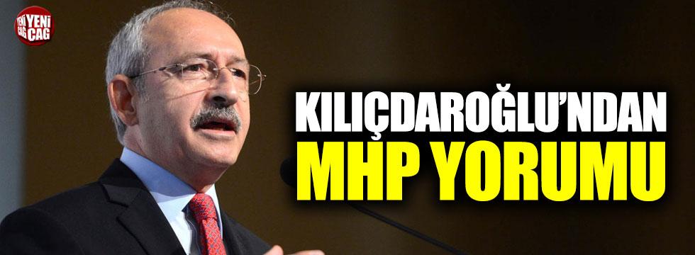 Kılıçdaroğlu'ndan MHP yorumu