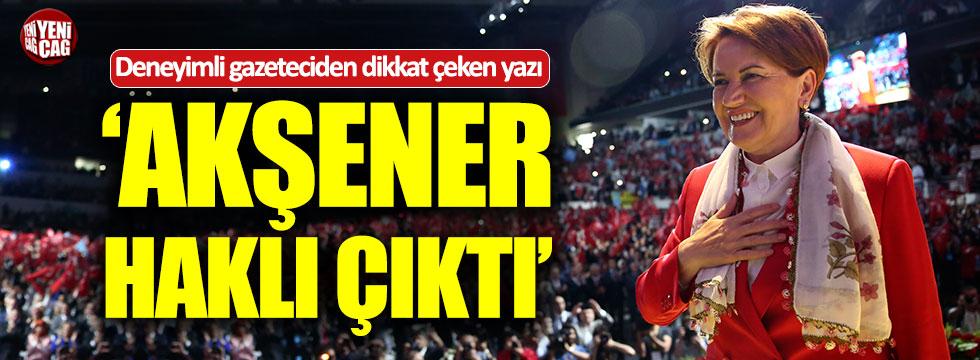 """Can Ataklı: """"Meral Akşener haklı çıktı"""""""