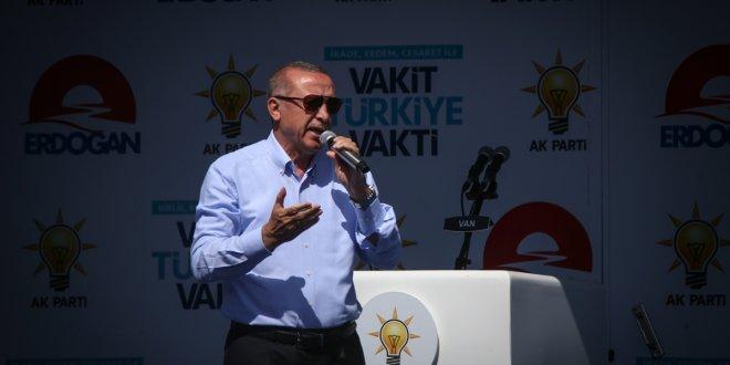 Erdoğan yine muhalefeti hedef aldı