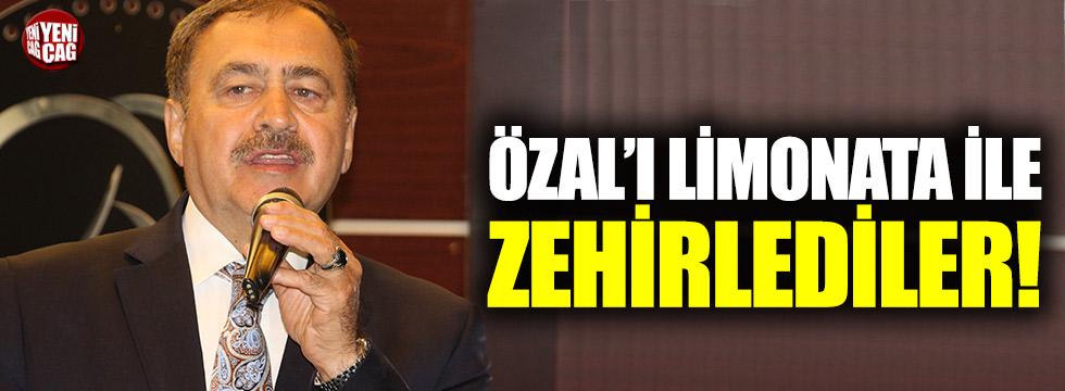 """Eroğlu: """"Özal'ı zehirlediler"""""""