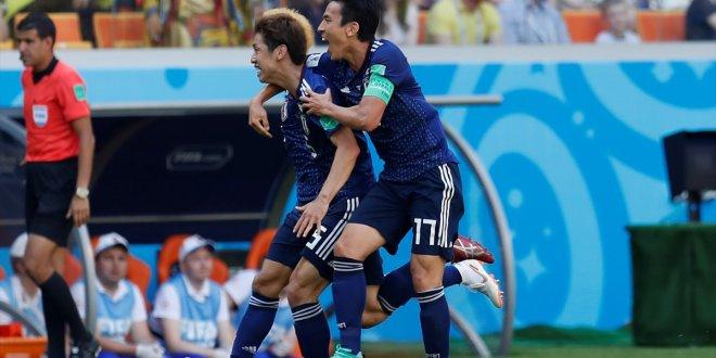 Kolombiya kızardı, Japonlar kazandı