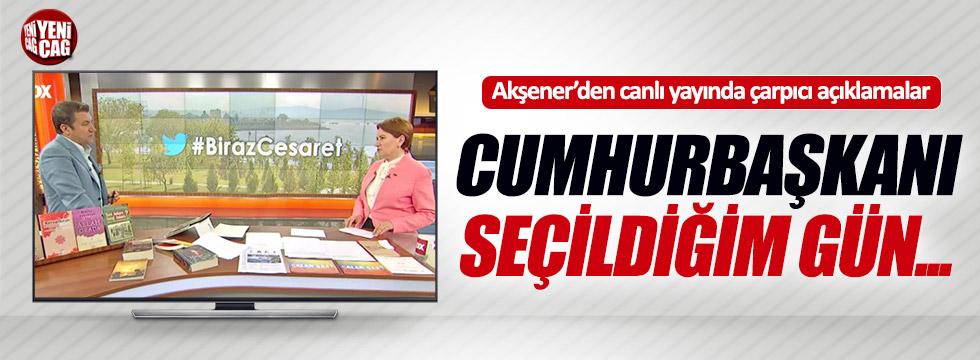 """Akşener FOX TV'de açıkladı: """"Cumhurbaşkanı seçildiğim gün..."""""""