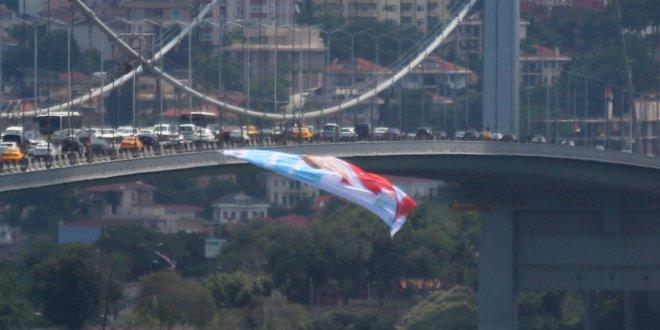 15 Temmuz Şehitler Köprüsü'ne Akşener posteri