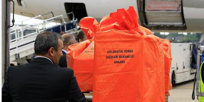 O oylar Türkiye'ye gönderildi