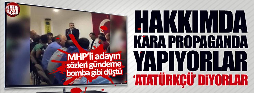 MHP'li adayın sözleri büyük tepki çekti