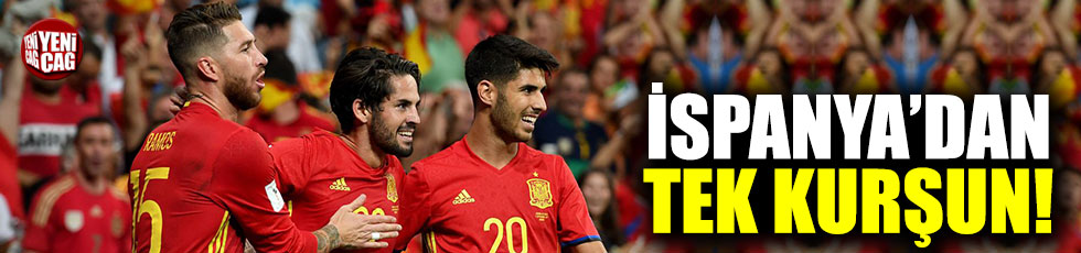 İspanya'dan tek kurşun