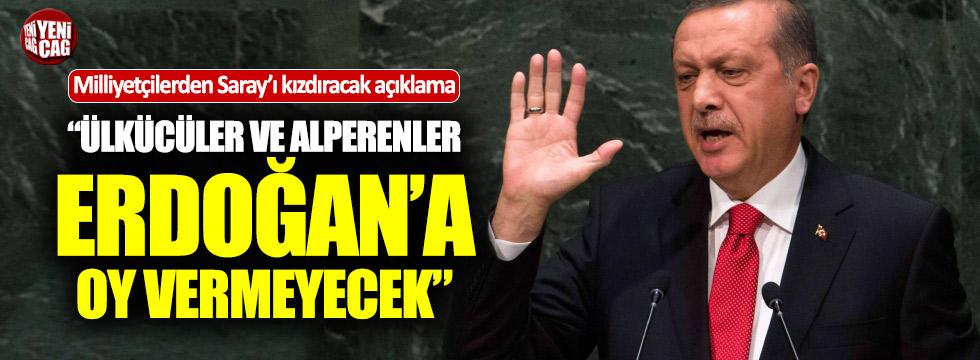 """BBP'li Öznur: """"Erdoğan'a oy vermeyeceğiz"""""""