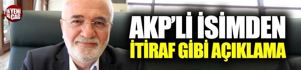 AKP'li Elitaş'tan itiraf gibi açıklama