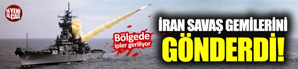 İran o bölgeye savaş gemisi gönderdi