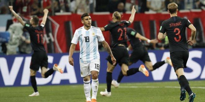 Hırvatistan Arjantin'i farklı geçti