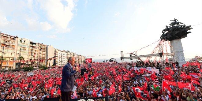 Muharrem İnce'den İzmir'den seslendi