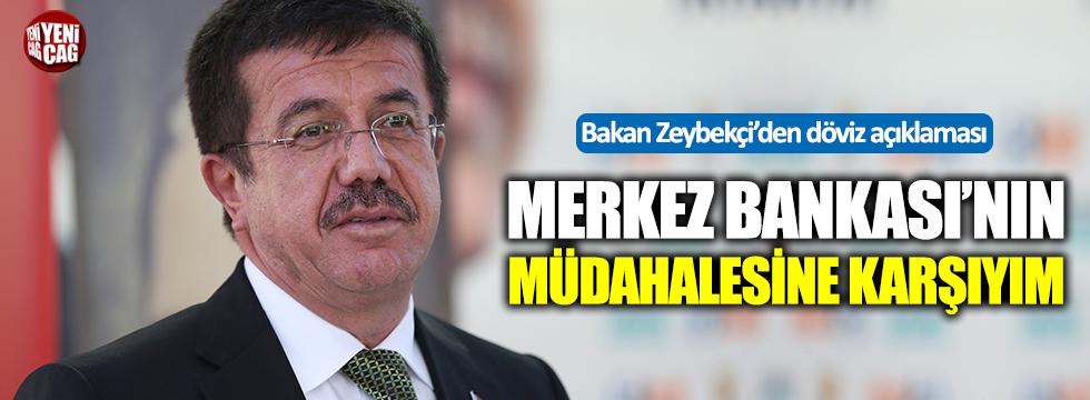Bakan Zeybekçi'den döviz kuru açıklaması