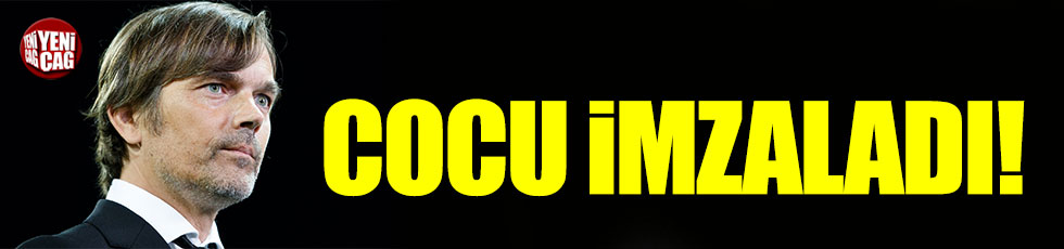 Phillip Cocu Fenerbahçe ile 3 yıllık sözleşme imzaladı
