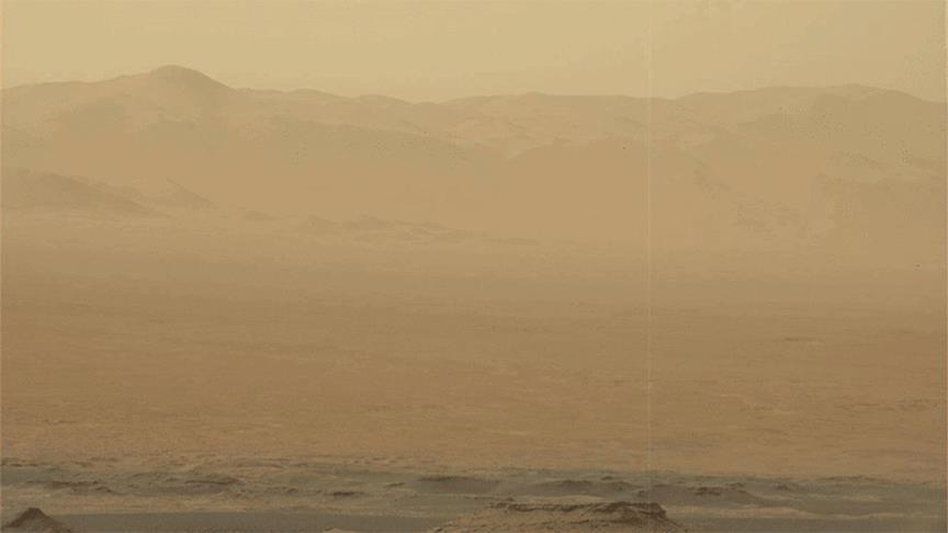 Toz fırtınası tüm gezegeni kapladı