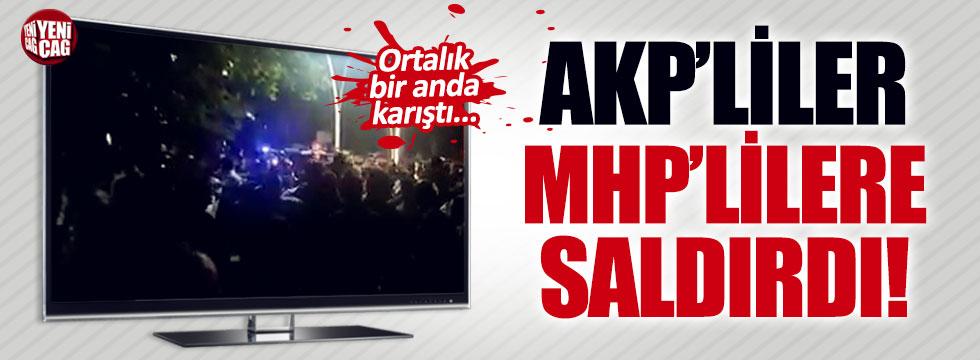 Tokat'ta AKP'liler MHP'lilere saldırdı iddiası