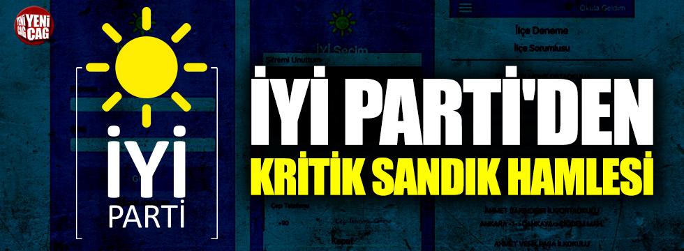 İYİ Parti'den kritik sandık hamlesi