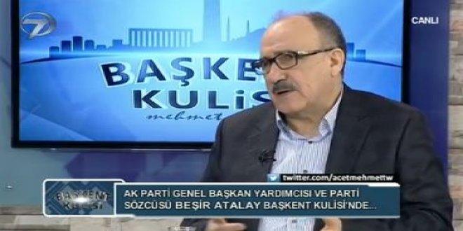 AKP'li Beşir Atalay'ın HDP ile ilgili sözleri tekrar gündemde