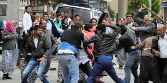Suriyelilerin kavgasında iki tutuklama
