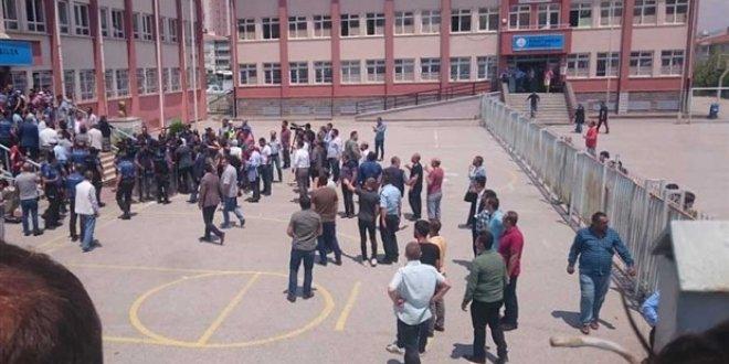 Ankara'da skandal görüntüler