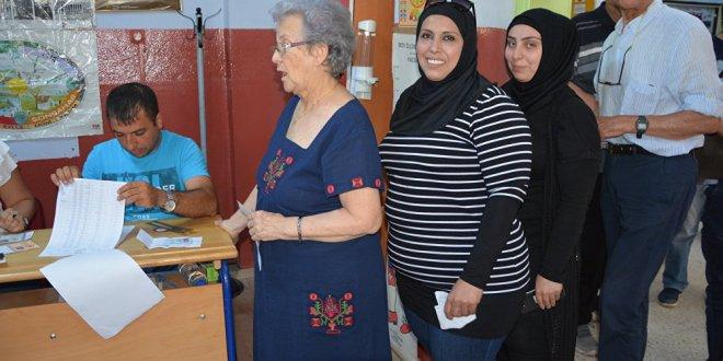 Suriyeliler oylarını kullandı