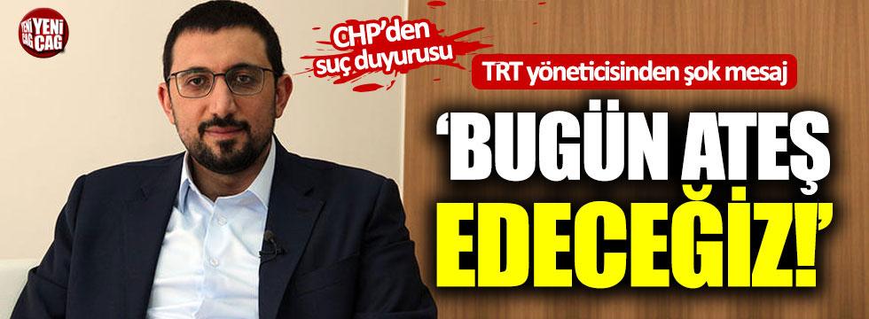 TRT yöneticisinden şok mesaj