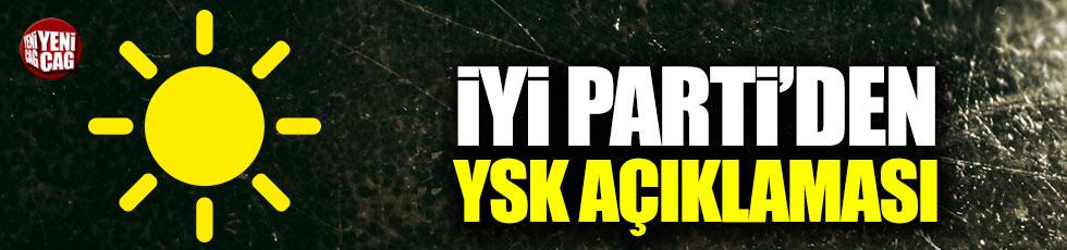 İYİ Parti'den YSK açıklaması