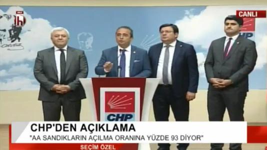 CHP Sözcüsü Bülent Tezcan: Seçim ikinci tura kaldı