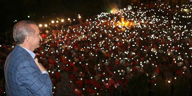 Erdoğan, balkon konuşması yapacak