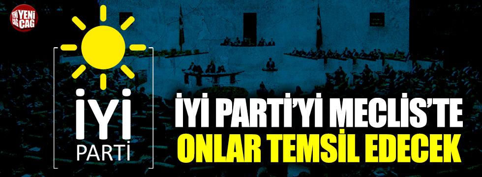 İşte İYİ Parti Milletvekilleri