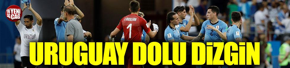 Uruguay 3'te 3 yaptı