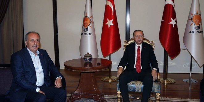 İnce'den Erdoğan'a telefon