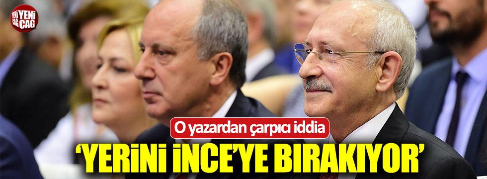 """Habertürk yazarı Yılman: """"Kılıçdaroğlu İnce'ye bırakıyor"""""""