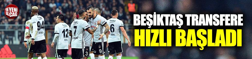 Beşiktaş transfere hızlı giriyor