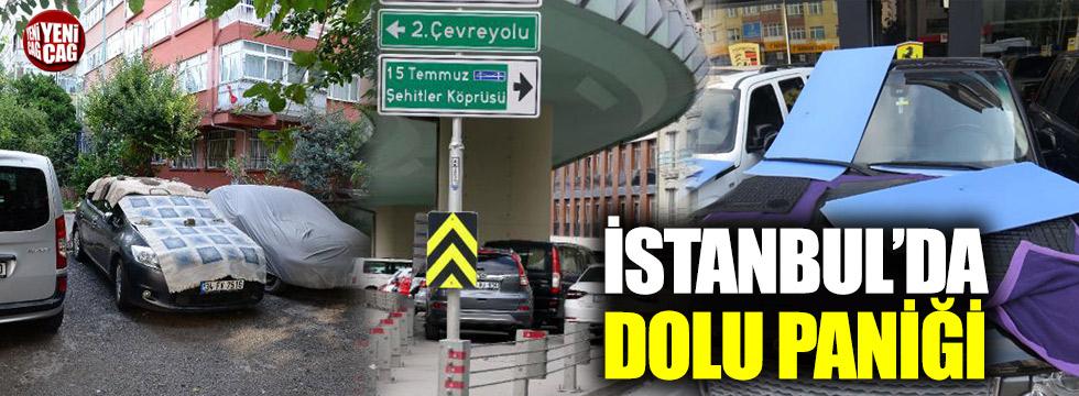 İstanbul'da dolu alarmı