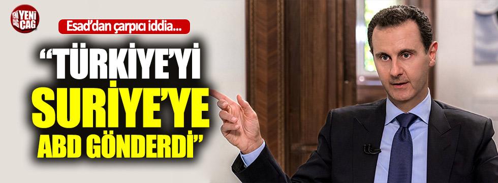 """Esad'dan Türkiye çıkışı: """"ABD gönderdi"""""""