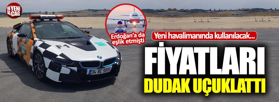 Yeni havalimanına dudak uçuklatan ultra lüks araçlar