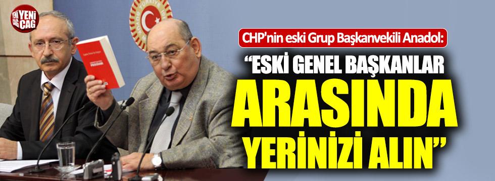 """Anadol:""""Eski başkanlar arasında yerinizi alın Kemal Bey"""""""