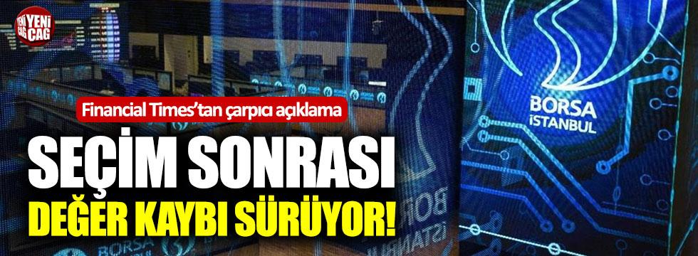 Financial Times'tan çarpıcı Türkiye açıklaması