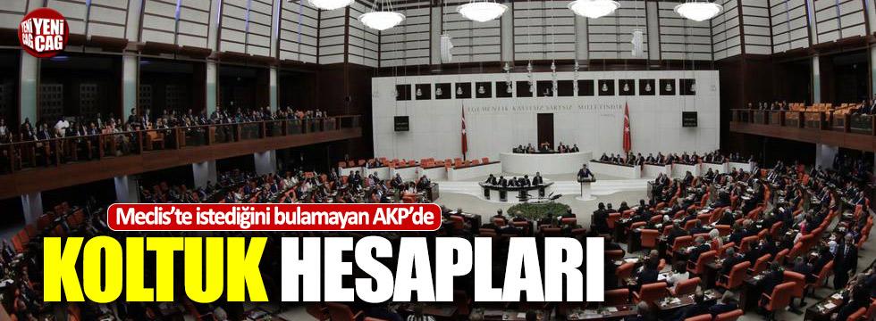AKP'de koltuk hesapları