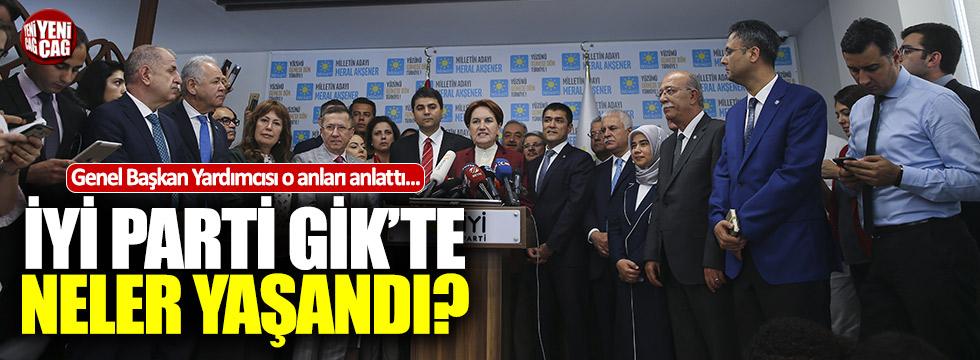 Akşener istifasını sundu mu? İYİ Parti GİK'te neler yaşandı?