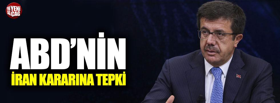 Zeybekci'den ABD'nin İran kararına tepki