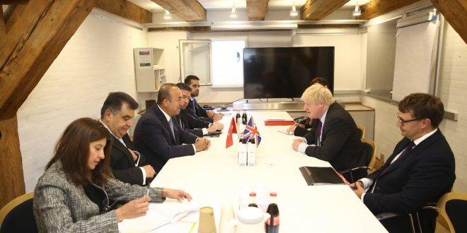 """Çavuşoğlu: """"Birleşik Krallık ile işbirliğimiz en üst noktada"""""""