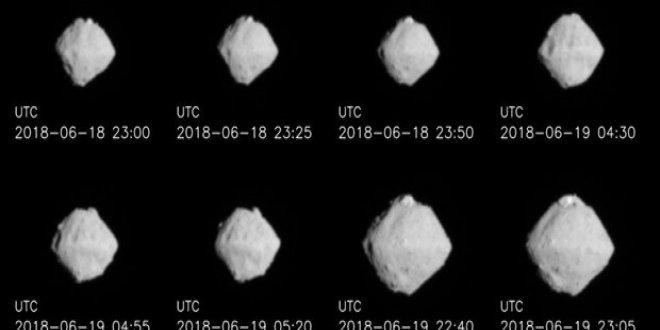 Japon uzay aracı 280 milyon km ötedeki asteroide ulaştı
