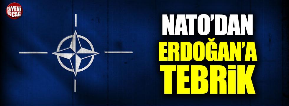 NATO'dan Erdoğan'a tebrik
