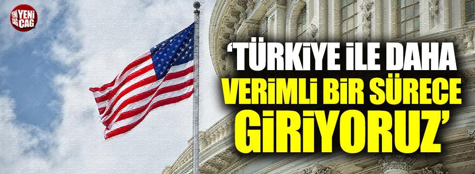 Pompeo: Türkiye ile daha verimli bir sürece giriyoruz