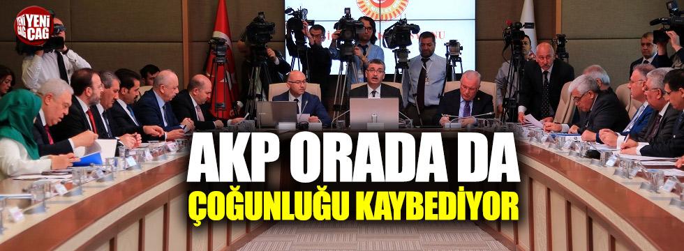AKP Meclis'teki komisyonlarda çoğunluğu kaybediyor