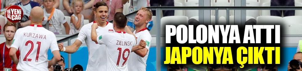 Polonya attı Japonya çıktı