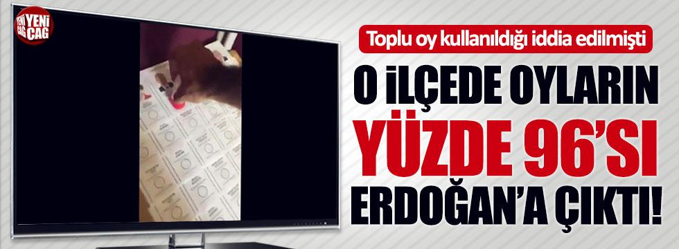 Toplu oy kullanıldı iddiasının olduğu Harran'da Erdoğan yüzde 96 aldı